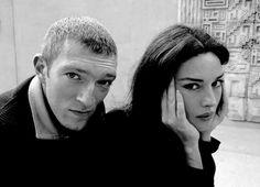 Pinterest : mutinelolita - Monica Bellucci & Vincent Cassell