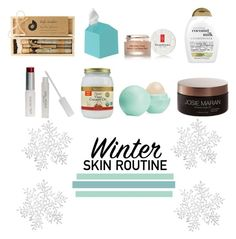 """Winter Skin Routine"" by ruthhhlesss ❤ liked on Polyvore featuring beauty, Organix, Eos, Truly Aesthetic, Josie Maran, Elizabeth Arden, W3LL People and Umbra"