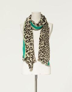 Leopard Print Scarf...always lovin my animal prints