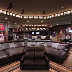 The ultimate man cave.