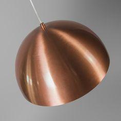 Lámpara colgante MAGNA 35 cobre mate