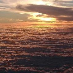 Sunset on my flight home