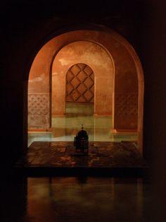 #39. Hammam Medina Mayrit. Salas agua caliente y templada. Foto: Pablo Echávarri (arquitecto).