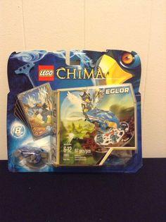 NIB Lego Legends Of Chima Eglor Nest Dive #70105 97 Pcs Set Toy Set #LEGO