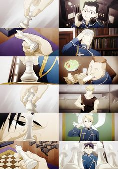 """ They've taken my Pond, my Bishop, my Rook, my Knight, and most importantly my Queen.But I'm still not in checkmate. Not yet, anyway.""  - colonel Roy Mustang"