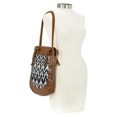 Mossimo Supply Co Tote Handbag Brown Handbags Crocheted