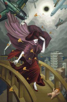 Matasaburo of the Wind by Alex Gross