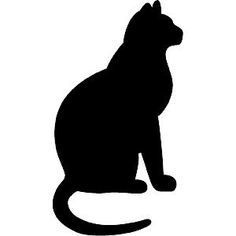 sungel black cat silhouette collections - Buscar con Google