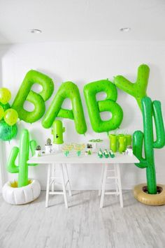 cactus themed desert bloom baby shower by kara allen kara's party ideas for oriental trading blog