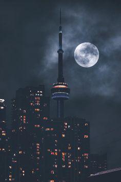 Toronto, On Canada 🇨🇦 Toronto Photography, Urban Photography, Landscape Photography, Toronto Ontario Canada, Toronto City, Night Aesthetic, City Aesthetic, Urban Landscape, Landscape Photos