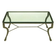 Hand Wrought Iron-Hoof Foot Coffee Table | From a unique collection of antique and modern coffee and cocktail tables at https://www.1stdibs.com/furniture/tables/coffee-tables-cocktail-tables/