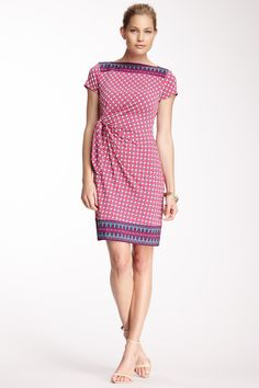 Side Drape Dress