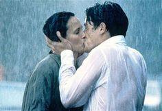 """Le baiser le plus mouillé : """"Quatre mariages et un enterrement"""""""