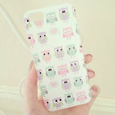 cute owl case for iPhone Iphone 5c, Iphone 6 Cases, Coque Iphone, Phone Covers, Ipod 5, Coque Mac, Girly Phone Cases, Gadgets, Cool Cases