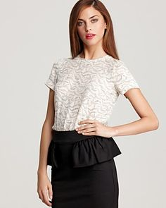 MARC BY MARC JACOBS Top - Kayla Printed