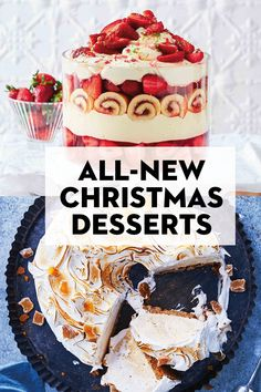 Look at those awesome as well as easy Xmas food tasty recipes to experience a amazing party for your kids, relatives and buddies! Mini Desserts, Christmas Desserts Easy, Christmas Lunch, Xmas Food, Christmas Cooking, Christmas Treats, Delicious Desserts, Dessert Recipes, Aussie Christmas