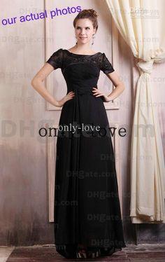 Long black dress for concert