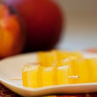 Fuzzy Navel (OJ, Peach Schnapps, Peach Nectar)