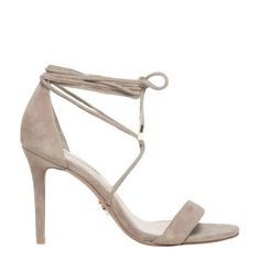 0a6b80cee697 Windsor Smith nougat suede lace up stiletto heel