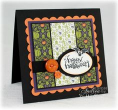 stampin up halloween card ideas | Is it Halloween yet? :: Andrea Walford - An {art}ful life & business