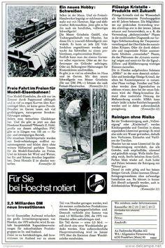 Original-Werbung/ Anzeige 1969 - HOECHST - ca. 180 x 240 mm