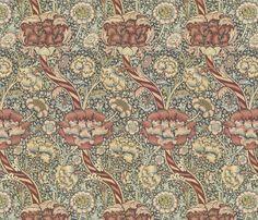 morris fabric by unseen_gallery_fabrics on Spoonflower - custom fabric