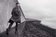 James McAvoy for Prada mens wear Fall 2014 ad campaign photographed by Annie Leibovitz.