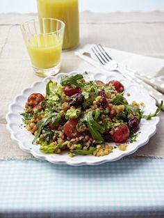 Unser beliebtes Rezept für Rote-Linsen-Salat und mehr als 55.000 weitere kostenlose Rezepte auf LECKER.de.