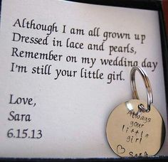 """Wedding Favour"" for my Mummy and Daddy, some day :)"