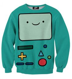 One of its kind, unique fully printed Adventure Time Collection. Stylish and comfy - no matter how often you wash it, it won't fade away or loose it's shape.