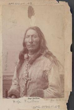 Long Feather (aka High Feather, aka One Feather) - Sihasapa/Hunkpapa - 1880