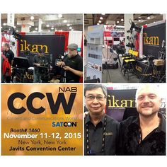 @markertek and @broadcastbeatmagazine tweeted some of these photos to us from CCW! ⭐️⭐️⭐️ #ikan #javitscenter #newyork #ccw2015 #production #equipment #gear #ikancorp