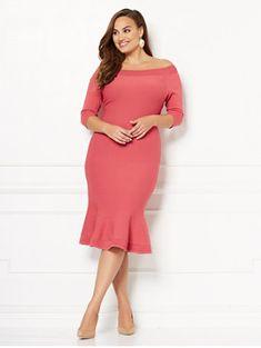 d0963f7a470 Melinda Sweater Dress - Eva Mendes Collection