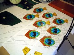 stained glass beginner peacock patterns | peacock stained glass patterns - group picture, image by tag ...