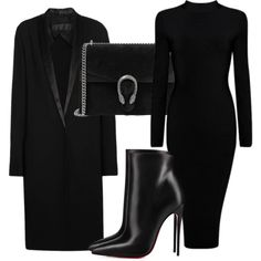 Untitled #5115 by beatrizvilar on Polyvore featuring moda, Haider Ackermann, Christian Louboutin and Gucci