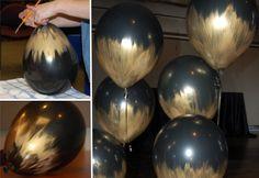 Teñir globos