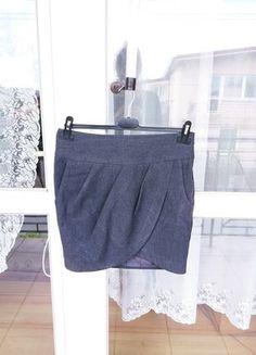 Kup mój przedmiot na #vintedpl http://www.vinted.pl/damska-odziez/spodnice/18429171-spodniczka-szara-marki-cropp-rozmiar-s