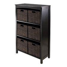 Martinsville 6 Drawers 3 Tier Storage Shelf