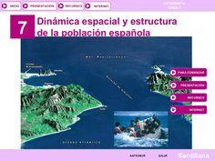 Tema 08: LA POBLACIÓN ESPAÑOLA II by tonicontreras via slideshare
