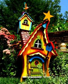 The Flying Tortoise: Gorgeous Tiny Whimsical Houses...