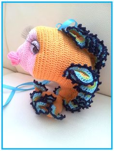 1000+ images about Crochet animals on Pinterest Fish ...