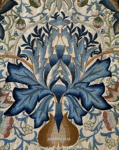 The Artichoke, by William Morris. Yorkshire, England, late 19th century.