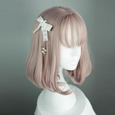 Note Headwear Is Not Included SKU Style Types Lolita Wig Material Heat Resistant Fiber Color Mixed Ombre Length 35 cm Lead Time Days Weight(kg) kg Kawaii Hairstyles, Pretty Hairstyles, Wig Hairstyles, Grey Hair Styles For Women, Kawaii Wigs, 3 4 Face, Lolita Hair, Cosplay Hair, Cosplay Wigs