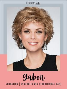 Create a stir in this softly curled shag cut with a collar length nape. #wigs #wigsmaker #wifglife #hairstyle #haircolor #hairstyles Gabor Wigs, Wig Cap, Synthetic Wigs, Hairline, Hair Lengths, Haircolor, Collars, Hairstyles, Traditional