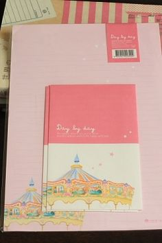 Photo1: Kawaii Letter Set - Day by day