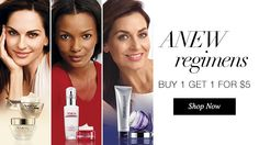 anew regimens - buy 1 get 1 for $5 at www.youravon.com/creswellfamily