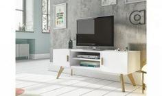 Mueble para TV con dos puertas Fleur