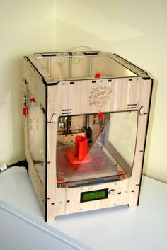 Troublemaker 3D printer (Ultimaker derivative) by Musti.
