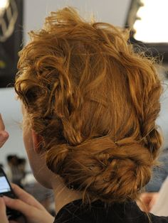 Gorgeous up do. I love that its not completely stiff.