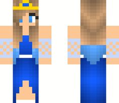 Water Princess | Minecraft Skin                                                                                                                                                      More